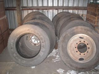 Semi Truck Trailer Tires