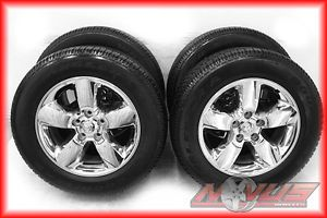 "2013 20"" Dodge RAM 1500 Bighorn Durango Factory Wheels Goodyear Tires 22"