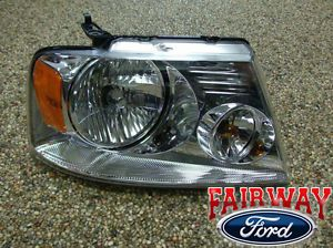 04 05 06 07 08 F 150 Genuine Ford Parts Right Passenger Head Lamp Light New