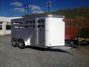 New 2013 Sundowner 16'  All Aluminum Horse Livestock Stock Trailer