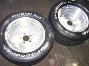 "Centerline Auto Drag Rims Wheels Chevy 15"" x 8 5""  Look 3 Days Only"