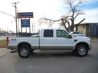 Ford F 350 Crew Cab King Ranch Diesel 4x4 Short Bed Fac 20's New Tires Sunroof