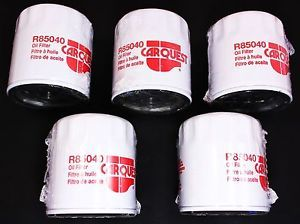 CarQuest R85040 Oil Filters Set of 5 GM Buick Cadillac Chevy Pontiac GMC