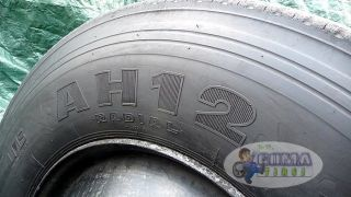 1 Hankook AH12 Radial Ums 11R22 5 Truck Tire Wheel