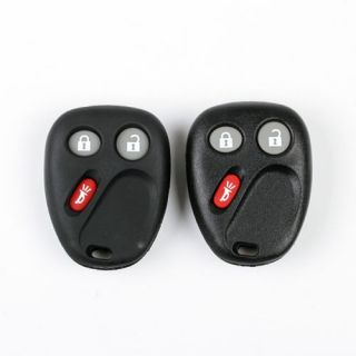 2 x Replacement Remote Keyless Key Fob Case Shell for GMC Hummer Chevy Saturn