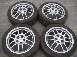 JDM Enkei oz F 1 Racing 17x7 5JJ 38 Evolution Lancer Mirage Wheels Rims