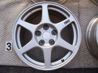 "Mitsubishi Lancer Evolution 17"" Wheels Rims Stock Enkei Factory Eclipse EVO"