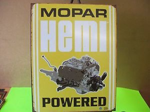 Tin Sign Mopar Dodge Emblem Logo Car Truck Garage Art Parts Accessories 1420