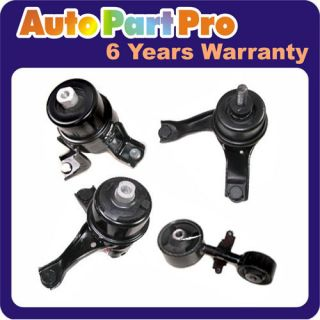 M261 Transmission Engine Motor Mount Set at Hydraulic 07 11 Toyota Camry 2 4L