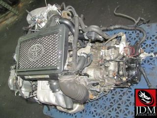 98 03 Caldina Celica MR2 4th Gen ST215 Turbo Engine 5SPD FWD Trans JDM 3SGTE