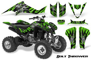Kawasaki KFX 400 03 08 Graphics Kit Creatorx Decals BTG