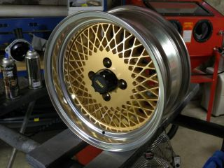 1985 86 Restored Saleen Mustang Enkei 92 Style Wheels 16x7 Mesh Rims Any Color