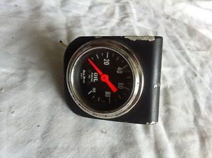 Details about AUTO METER AUTOMETER 100 PSI OIL PRESSURE GAUGE RAT HOT