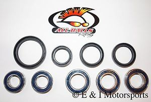 2004 2012 Honda CRF250X CRF 250x Front Rear Wheel Bearings Seals Kit