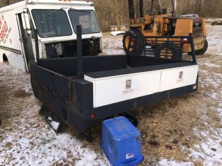 Tool Box Large Flat Bed Service Truck Dually Wrecker Rollback Weathergaurd Work