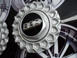 BBs RZ Silver Wheel Center Caps Set of 4 0923137
