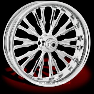 Performance Machine PM Roulette Chrome Harley Wheels