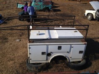 Utility Truck Bed S10 Ranger Tool Box