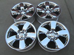 "20"" Dodge 1500 RAM Factory Chrome Clad Wheels Rims 2013"