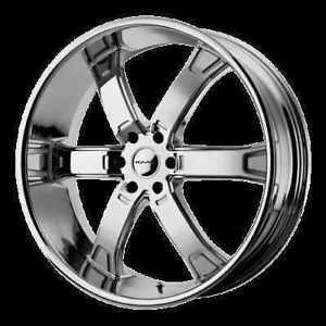 "20"" KMC Brodie Chrome Rims with 285 50 20 Sunny SN3980 Tires Expedition Wheels"