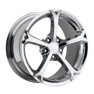 C6 Grand Sport C6 Z06 Corvette Chrome Wheels Rims for A C4 17x8 5 18x9 5