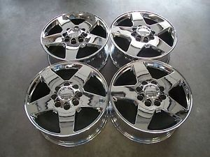 "20"" Chevy Silverado 8x6 5 GMC Sierra 2500HD Factory Wheels Chrome"