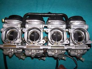 2001 Suzuki GSXR 750 Throttle Body Carburetor Four Cylinder Motorcycle Carb Cafe