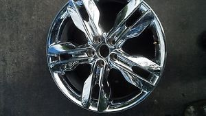 "Ford Edge 20"" Chrome Clad Wheel"