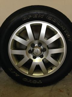 Ford F 150 King Ranch Wheels and Toyo Tires