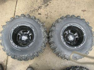 YFZ 450 450R Wheel Tire ITP SS GNCC 20 10 9 Rear Set Yamaha 90 Tread Raptor