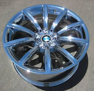 "4 New 19"" Factory BMW 745i 745LI 750i 750LI 760i Chrome Wheels Rims Set"