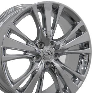 "Set 4 19x7 5 Lexus RX 350 450H Style Chrome Replica Wheels Rims 19"" RX350"