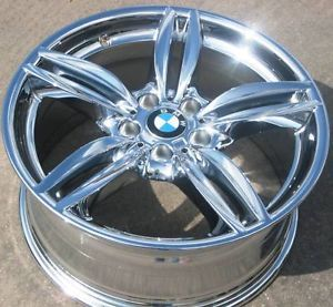 "Exchange 4 19"" BMW 528i 535i 550i 525i Factory Chrome Wheels Rims 640i 650i"