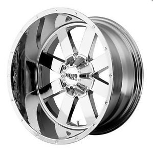 "18"" x 10"" Moto Metal MO962 5x150 Tundra 2WD 4WD Sequoia LX470 Chrome Wheels Rims"