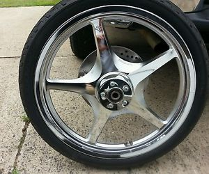 Harley Davidson Dyna Thunder Star Wheel Chrome 21""