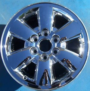 "2009 2010 2011 GMC Yukon XL Sierra Denali 1500 Pickup 18"" Wheel Rim Chrome"