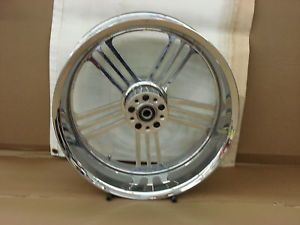 "Weld ""Forge"" 21""X2 15""Chrome Motorcycle Front Wheel"