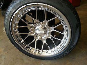 "BBs RS704 Chrome 18"" Staggered Wheels 5x112 Mercedes Audi VW AMG"