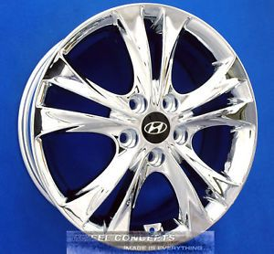 Hyundai Sonata 17 inch Chrome Wheel Rim Exchange 2011