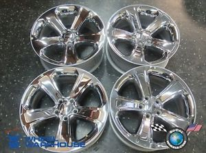 "11 12 Dodge Charger Factory 18"" Chrome Clad Wheels Rims 2407 Challenger"