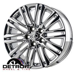 "Lexus ES350 17"" PVD Chrome Wheels Rims 2013"