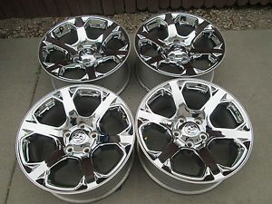 "20"" Dodge RAM 1500 Factory Chrome Clad Wheels Rims 2013"