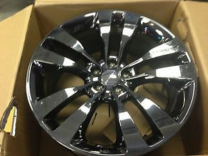 "Dodge Challenger Black Chrome Vapor 20"" Wheels"
