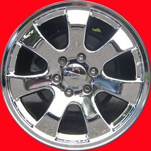 "20"" Toyota Tundra Sequoia Texas Edition Factory Wheels Rims Chrome"