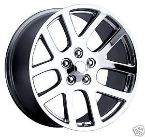 "20"" SRT 10 02 08 SRT10 Dodge RAM Chrome Wheel Rim Tire"