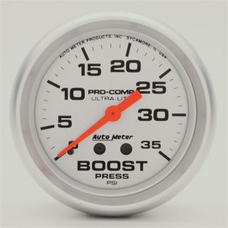 Auto Meter 4404 Ultra Lite Mechanical Boost Gauge