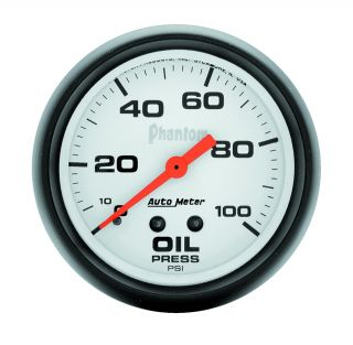 Auto Meter 5821 Phantom Mechanical Oil Pressure Gauge