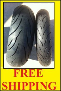 Kawasaki ZRX1200 Two Continental Sport Touring Radial Motorcycle Tire Set