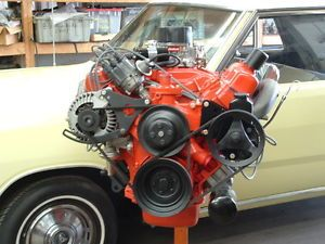 Plymouth Dodge Mopar 1969 E 440 HP Remanufactured Engine with HP Exhaust