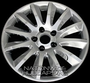 4 CHROME Chrysler 300 17 Wheel Skins Hub Caps Rim Covers 12 Spoke Alloy Wheels